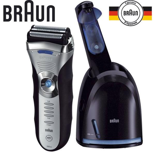 Электробритва-Braun-390cc-4-Series